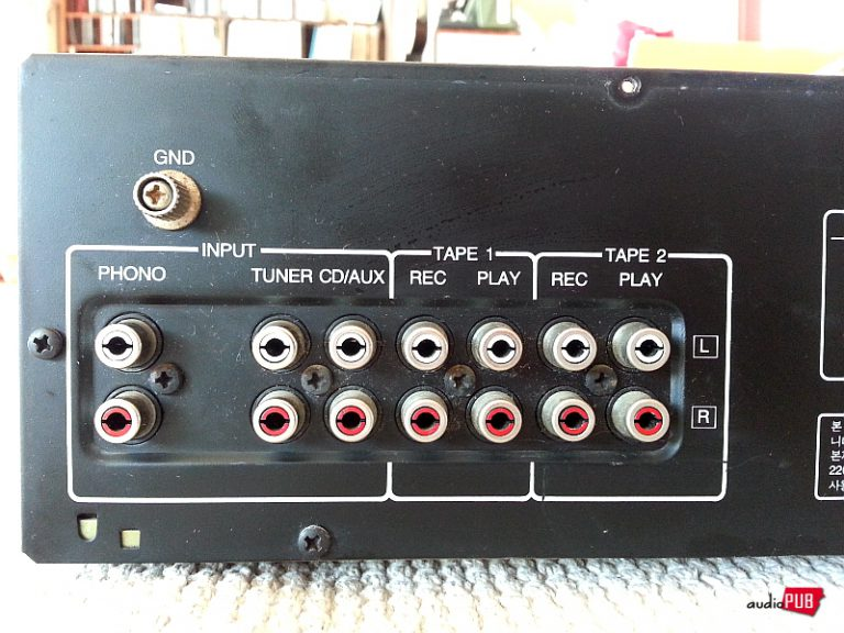 다시 보고 싶은 국산 모델들, 대우전자 ACS-98A 인티앰프 (5